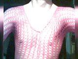 0172 selfie crossdresser red catsuit Nylonbody Stockings big