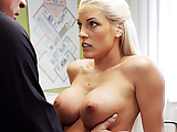 LOAN4K. Gorgeous blonde with perfect body offers agent sex..