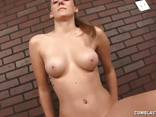 Cumshots Teens movie: Teen With Natural Tits Gets Her Cum Load