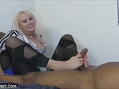 Vicky Vixxx Fantasy Foot Job Sperma stimmt