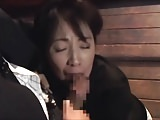 Blowjobs Matures movie: FRCED JAPAN MATURE BJ