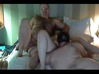 Threesome Mature Wife video: Sharing mature wife with best friend