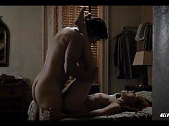 Amber Skye Noyes y Jamie Neumann en The Deuce - S01E01