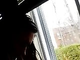 follando en la ventana