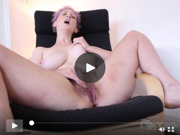 Yanks Vera Blue's Hot Hairy Pussy Loving