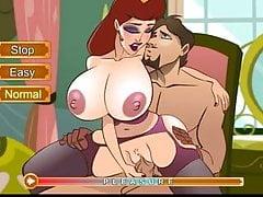 Gioco di sesso Hentai Scopando la regina delle troie del regno