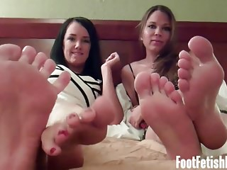 Stockings Bdsm porno: We know exactly how much you love our sexy feet