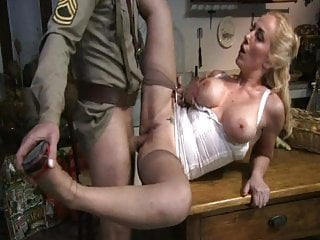 Lingerie Tits Blowjob video: Military's Wife