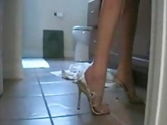 milf shoejob footjob 3