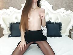 Very Sexy Brunette HairPlay, Long Hair, Hair