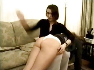 Softcore Spanking video: pull up skirt spanking wedgie