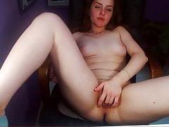ukraińska rudowłosa cam-slut