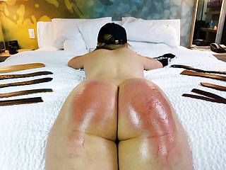 Babes Bdsm Spanking video: The Sting From 8 Straps - (Spanking)