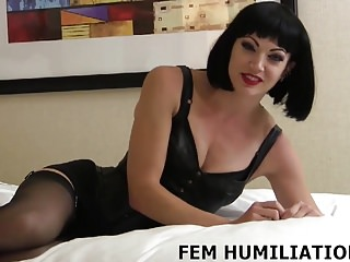 Bdsm Bisexuals Femdom video: You are going to be my new little sissy boy slave