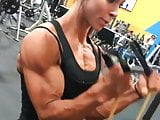 Cutie with Biceps