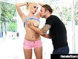 Polish Princess Natalia-Starr Pussy Pounded By Young Stud!