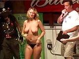 Stunning strip contest girl