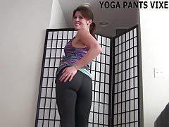Nie możesz oderwać ode mnie oczu, kiedy wykonuję swoją jogę JOI