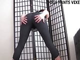 These yoga pants really hug my pussy JOI