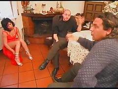 Trio anale italiano peloso