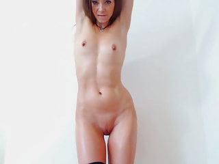 cute slim girl solo titty worship & nipple worship