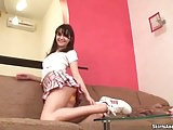 Do you like the cute new stripped panties I just got JOI