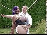 Big tit bondage piggy