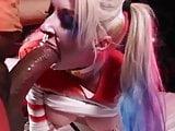 Leya Falcon is Harley Quinn