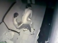 Asians caught fucking at internet cafe (hidden cam)