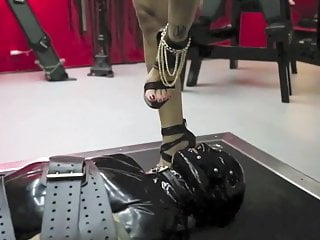 Danish Foot Fetish video: Mistress No.1 Adore and worship my feets slave !