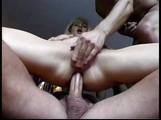 porno zadarmo - DP for hungarian blond