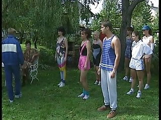 Vintage Teen Small Tits video: NMLN Teens Enjoy A A Weekend Away !
