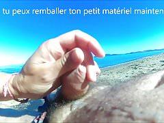 Ręczna robota na plaży