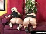 UK Sophie Dee & Jessica Jaymes Spread Their Legs On Cam!