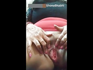 Indian Wife Pussy video: Married Shona bhabhi real Indian squirt