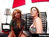 Hot Milf Sara Jay Has Revenge Sex With Lesbian Melrose Foxxx