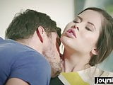 JOYMII horny Cassie Fire seduces classmate