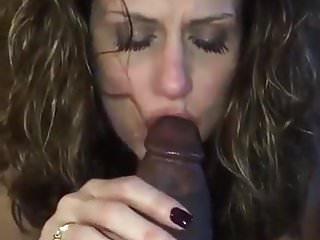 Blowjobs Black And Ebony porno: Gorgeous Milf Sucking a Big Black Cock