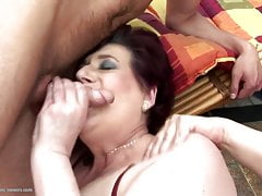 Grannies get gangbang and golden shower
