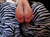 BARE FOOT & Keely Showing Soles and toes 001