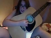 Nerdy teen hairy webcam