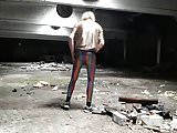 DESTROYING MY RAINBOW LEGGINGS