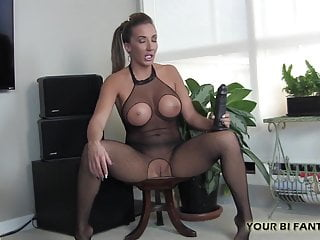 Femdom Pov xxx: I will tease your holes with this big rubber cock