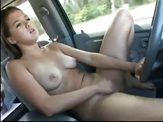 Car Compilation Pussy video: Most Women Masturbate While Driving