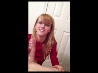 Pov Teen Blonde video: Nerdy POV