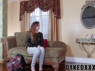 Milfs Lesbians Big Boobs video: Busty MILF Lexi Luna strapon fucks cute teen Stoney Lynn