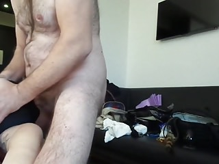Slave Cum In Mouth Rough Sex video: Session march 2018:slap tits,brutal fuck mouth,cum in mouth