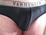 Hubbys cock bulge