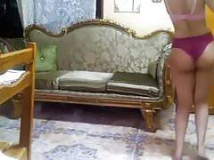 egipt dziewczyna tańczy fajny tyłek