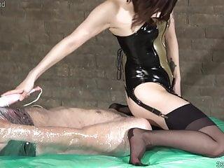Japanese Strapon Femdom video: Japanese Femdom Sherry Punishment and Facesitting
